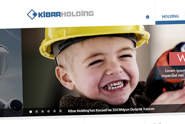 Kibar Holding Website