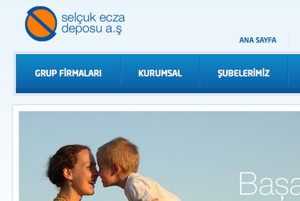 Selcuk Ecza Deposu Website