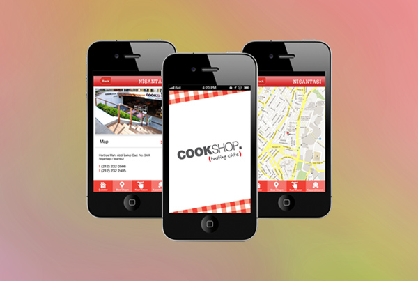 Cookshop iPhone App